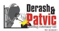 DERASH & PATVIC WELDING ACADEMY LIMITED Logo